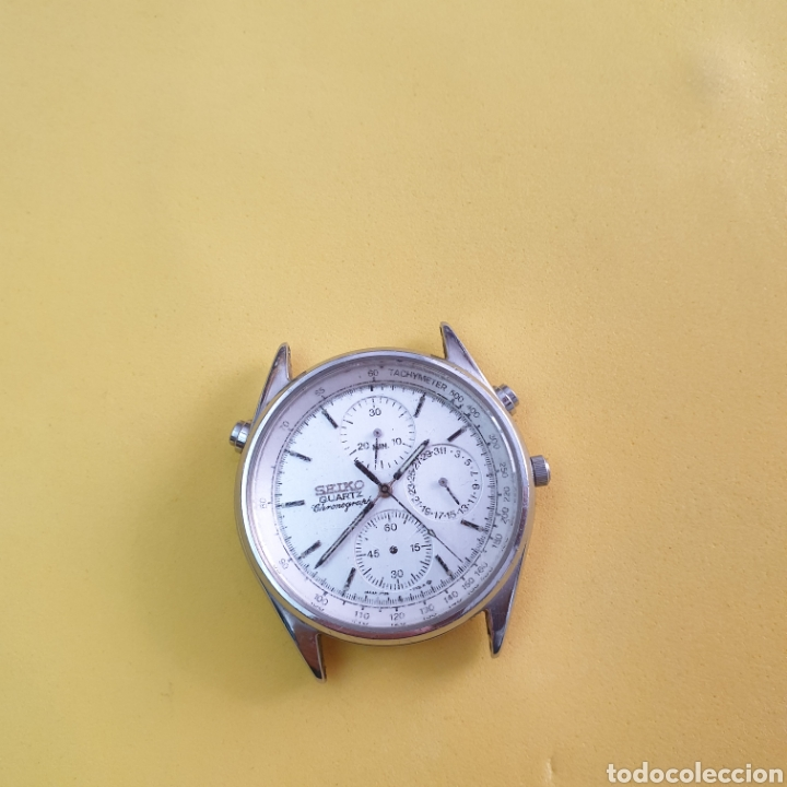 Recambios de relojes: RELOJ SEIKO 7T24 para piezas o reparar - Foto 2 - 263903705