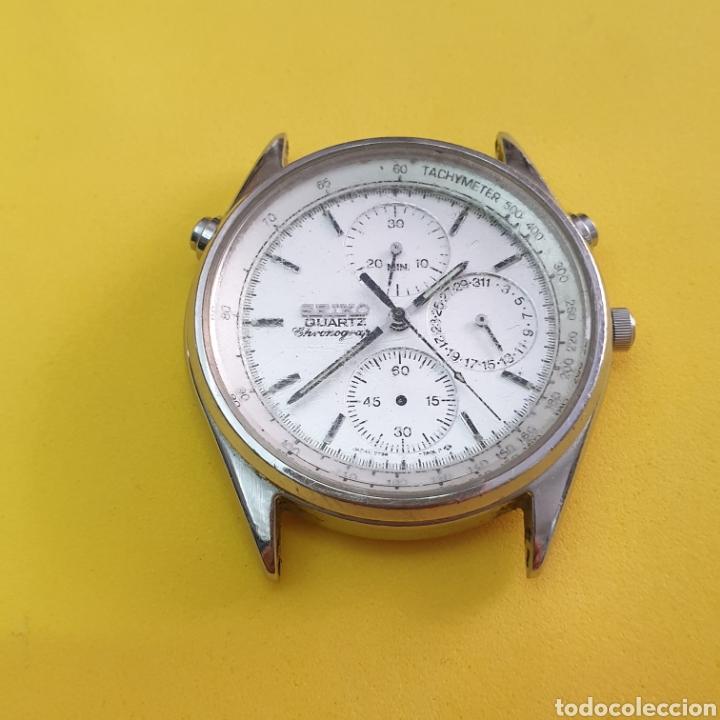 Recambios de relojes: RELOJ SEIKO 7T24 para piezas o reparar - Foto 3 - 263903705