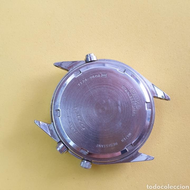 Recambios de relojes: RELOJ SEIKO 7T24 para piezas o reparar - Foto 4 - 263903705