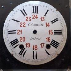 Recambios de relojes: ESFERA DE RELOJ MOREZ. Lote 265947303