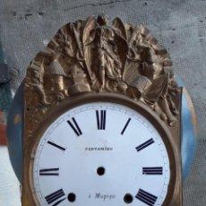 Recambios de relojes: FRONTAL DE RELOJ MOREZ, SIGLO XIX. Lote 266163108