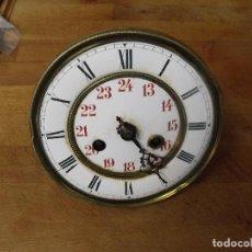 Recambios de relojes: ANTIGUA MAQUINARIA ALFONSINA PARA RELOJ DE PARED-LOTE 398. Lote 266374193