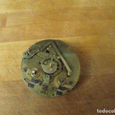 Recambios de relojes: ANTIGUA MAQUINARIA PARIS PARA RELOJ SOBREMESA-AÑO 1870- LOTE 398. Lote 266410133