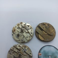 Recambios de relojes: LOTE 3 CALIBRES RELOJES DE BOLSILLO NR 1. Lote 266455413