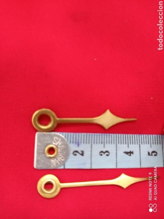 Recambios de relojes: ANTIGUAS PIEZAS DE RELOJ, PÉNDULO DE TORSIÓN Y ESFERA HORÓSCOPO ANIVERSARIO - Foto 2 - 268618094