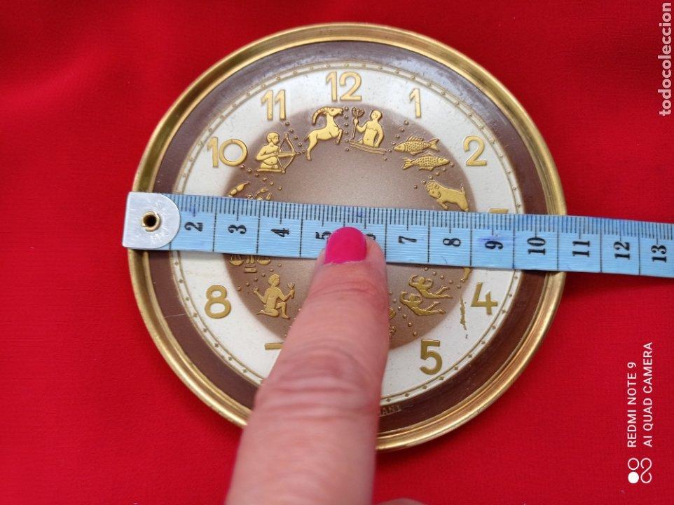 Recambios de relojes: ANTIGUAS PIEZAS DE RELOJ, PÉNDULO DE TORSIÓN Y ESFERA HORÓSCOPO ANIVERSARIO - Foto 4 - 268618094