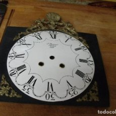 Recambios de relojes: ANTIGUA ESFERA EN PORCELANA Y CHAPA PARA RELOJ DE CADENAS-LOTE 400. Lote 268734109