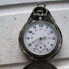 Recambios de relojes: ANTIGUA CAJA PARA GUARDAR RELOJ DE BOLSILLO DIÁMETRO INTERIOR 5,5 CMTS. SOLO CAJA. Lote 268837909