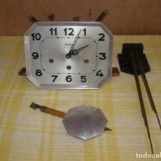 "Recambios de relojes: ANCIEN MÉCANISME DE CARILLON 8 MARTEAUX ""GIROD"" + BALANCIER + SUPPORT 8 TIGES. Lote 269070638"
