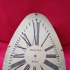Recambios de relojes: MAQUINARIA Y FRONTAL DE LATÓN, WALTHAN, U.S.A. AÑOS 20, ART-DECÓ.. Lote 269080848