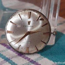 Ricambi di orologi: MECANISMO A CUERDA DE ANTIGUO RELOJ DE ORO FESTINA. Lote 269748378