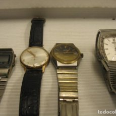 Recambios de relojes: LOTE DE 4 RELOJES PARA REPARAR. Lote 270127468
