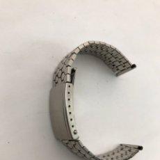Pièces de rechange de montres et horloges: CORREA FLEXIBLE 18 MM. Lote 272419533