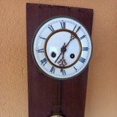 Recambios de relojes: ANTIGUO MECANISMO D.G.M.S ? RELOJ DE PENDULO. Lote 274669023