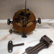 Recambios de relojes: MECANISMO PARA RELOJ DE SOBREMESA FHS GERMANY 130-020. Lote 274894973
