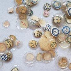 Peças de reposição de relógios: LOTE CON MAS DE 170 CRISTALES DE RELOJ DE BOLSILLO ANTIGUOS DE EPOCA. Lote 275056178