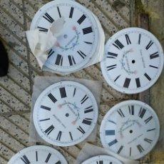 Recambios de relojes: LOTE DE ESFERAS PARA RELOJ MOREZ. Lote 275105228