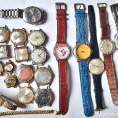 Ricambi di orologi: RELOJES DE CUERDA DE PULSERA - PIEZAS O REPARAR. Lote 276267108