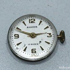 Peças de reposição de relógios: MECANISMO DE CAJA PARA RELOJ DE PULSERA A CUERDA MARCA ANKER. Lote 276405223