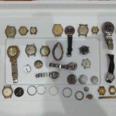 Recambios de relojes: EXCELENTE LOTE DE RELOJES Y PIEZAS.. Lote 276757233