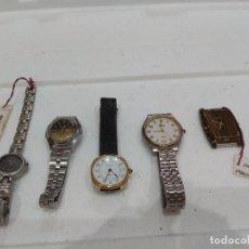 Recambios de relojes: LOTE DE VARIOS RELOJES. DIFERENTES MARCAS,DOGMA,MAREA,LOTUS,NOVESTEL,OGIVAL,ORIENT,PULSAR ETC.... Lote 276758048