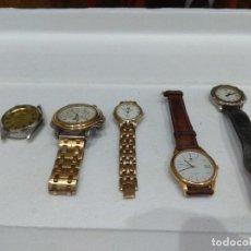 Recambios de relojes: LOTE DE VARIOS RELOJES. DIFERENTES MARCAS,DOGMA,MAREA,LOTUS,NOVESTEL,OGIVAL,ORIENT,PULSAR ETC.... Lote 276758073