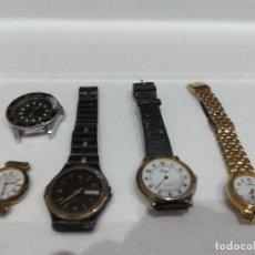 Recambios de relojes: LOTE DE VARIOS RELOJES. DIFERENTES MARCAS,DOGMA,MAREA,LOTUS,NOVESTEL,OGIVAL,ORIENT,PULSAR ETC.... Lote 276758098