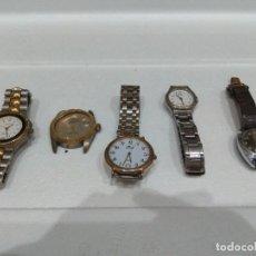 Recambios de relojes: LOTE DE VARIOS RELOJES. DIFERENTES MARCAS,DOGMA,MAREA,LOTUS,NOVESTEL,OGIVAL,ORIENT,PULSAR ETC.... Lote 276758108