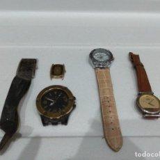 Recambios de relojes: LOTE DE VARIOS RELOJES. DIFERENTES MARCAS,DOGMA,MAREA,LOTUS,NOVESTEL,OGIVAL,ORIENT,PULSAR ETC.... Lote 276758123