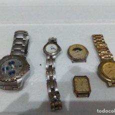 Recambios de relojes: LOTE DE VARIOS RELOJES. DIFERENTES MARCAS,DOGMA,MAREA,LOTUS,NOVESTEL,OGIVAL,ORIENT,PULSAR ETC.... Lote 276758143