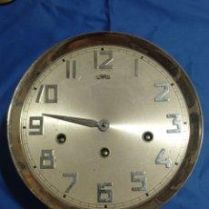 Recambios de relojes: ANTIGUA MAQUINARIA DE RELOJ DE PARED GERMANY. Lote 281831133
