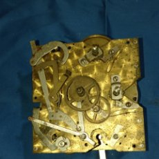 Recambios de relojes: ANTIGUA MAQUINARIA DE RELOJ DE PARED. Lote 282267018