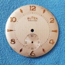 Recambios de relojes: 27-ESFERA BUTEX, 34 MM. DIÁMETRO. Lote 282936298