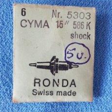 """Recambios de relojes: 63- CYMA - 5 EJES VOLANTE Nº 5303 - 16"""" - 586 K. Lote 283666893"""