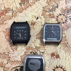 Recambios de relojes: RELOES TOW TIME LCD ANTIGUOS. Lote 284168398
