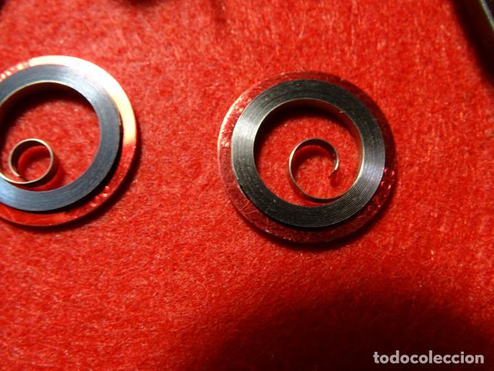 Recambios de relojes: Lote 7 Muelles Cuerdas para reloj nuevas, despertador, - Foto 2 - 285189003