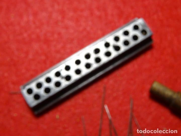 Recambios de relojes: Lote limas relojero y calibre para medir ruedas - Foto 3 - 285189393