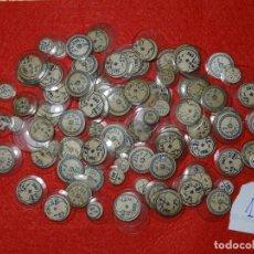 Recambios de relojes: LOTE 100 ANTIGUOS CRISTALES A ESTRENAR PARA RELOJ PULSERA, LOTE 1.-. Lote 285190373