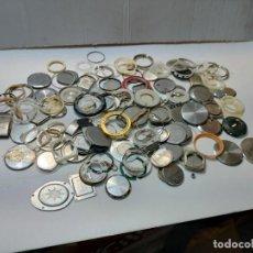 Recambios de relojes: LOTE RELOJERO TAPAS DE RELOJ ETC TODO LO DE LAS FOTOS. Lote 289541933