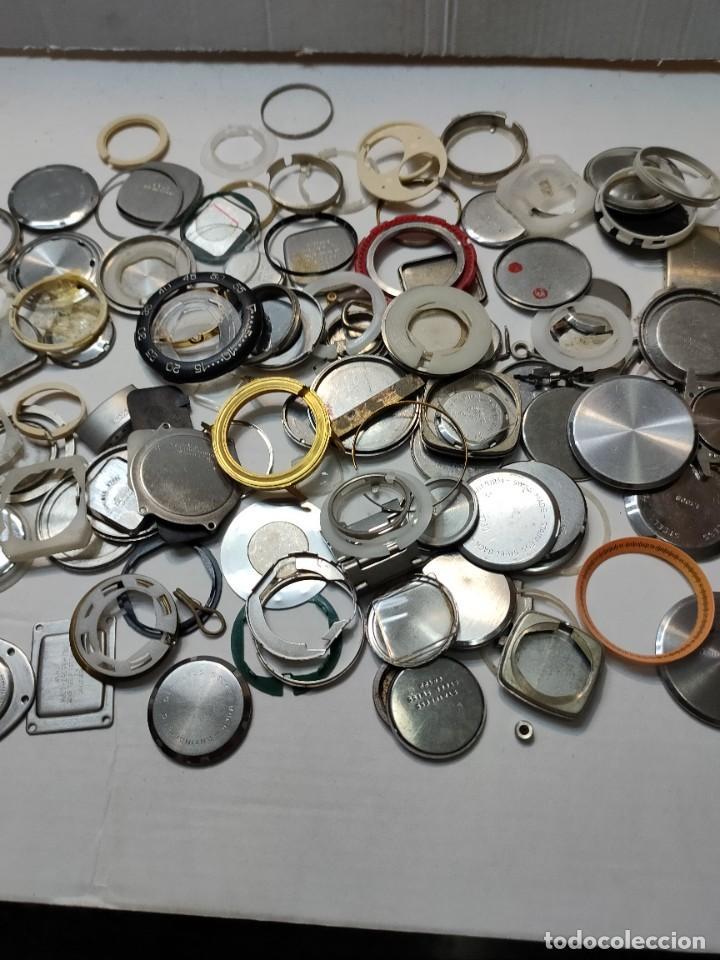 Recambios de relojes: Lote Relojero tapas de reloj etc todo lo de las fotos - Foto 3 - 289541933