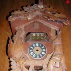 Recambios de relojes: CAJA PARA RELOJ CUCO DE CARRUSEL. Lote 290654093