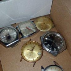Peças de reposição de relógios: LOTE RELOJES PARA REPARAR O PIEZAS ORIENT, CAUMY, CYMA... Lote 293929968