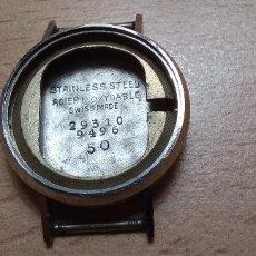 Recambios de relojes: CAJA RELOJ ACERO 20 MM SIN MOVIMIENTO (LOTE 2023). Lote 294369673