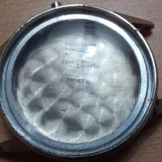 Recambios de relojes: CAJA RELOJ ACERO CABALLERO 32 MM SIN MOVIMIENTO (LOTE 2026). Lote 294370468