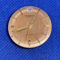 Recambios de relojes: MAQUINARIA LONGINES MOVIMIENTO CALIBRE 291 NO FUNCIONA. Lote 297381663