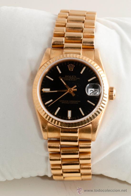 1d0c423b410 Reloj para caballero rolex de oro amarillo maci - Vendido en Venta ...