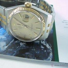 Relojes - Rolex: RELOJ-ROLEX-DATEJUST OYSTERQUARZ-17013-ACERO+ORO-COMO Nº-MUCHOS ACCESORIOS-NUEVO O COMO NUEVO.. Lote 175823292