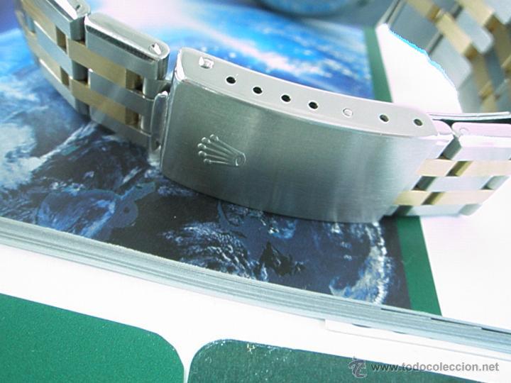 Relojes - Rolex: RELOJ-ROLEX-DATEJUST OYSTERQUARZ-17013-ACERO+ORO-COMO Nº-MUCHOS ACCESORIOS-Nuevo o como nuevo. - Foto 12 - 175823292