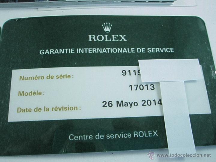 Relojes - Rolex: RELOJ-ROLEX-DATEJUST OYSTERQUARZ-17013-ACERO+ORO-COMO Nº-MUCHOS ACCESORIOS-Nuevo o como nuevo. - Foto 13 - 175823292