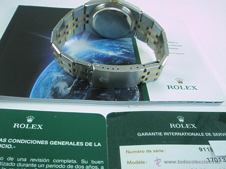 Relojes - Rolex: RELOJ-ROLEX-DATEJUST OYSTERQUARZ-17013-ACERO+ORO-COMO Nº-MUCHOS ACCESORIOS-Nuevo o como nuevo. - Foto 15 - 175823292